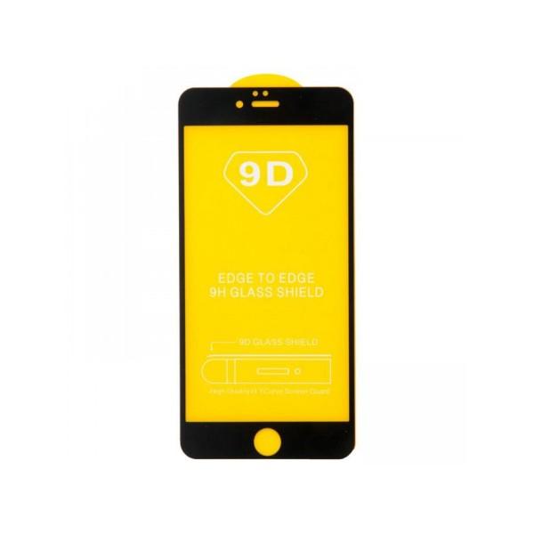 Стекло защитное iPhone 6/6s (3D) черное