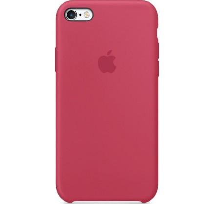 Чехол Silicone Case iPhone 6/6s малиновый (c)