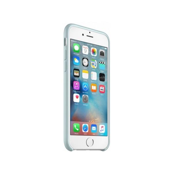 Чехол Silicone Case iPhone 6/6s бирюзовый (c)
