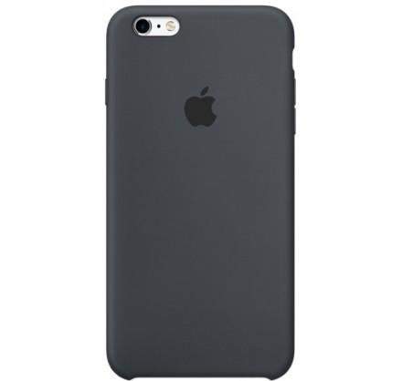 Чехол Silicone Case iPhone 6/6s черный (c)
