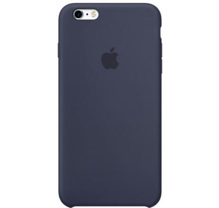 Чехол Silicone Case iPhone 6/6s темно-синий (c)