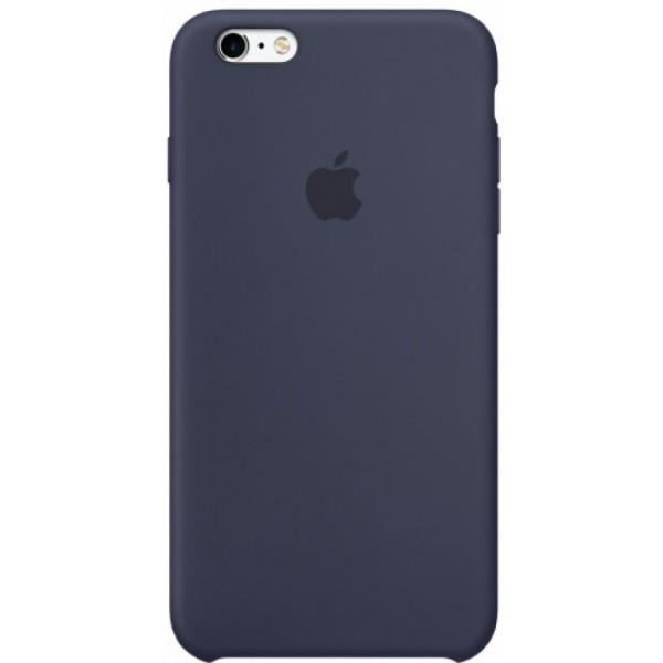 Чехол Silicone Case для iPhone 6/6s темно-синий