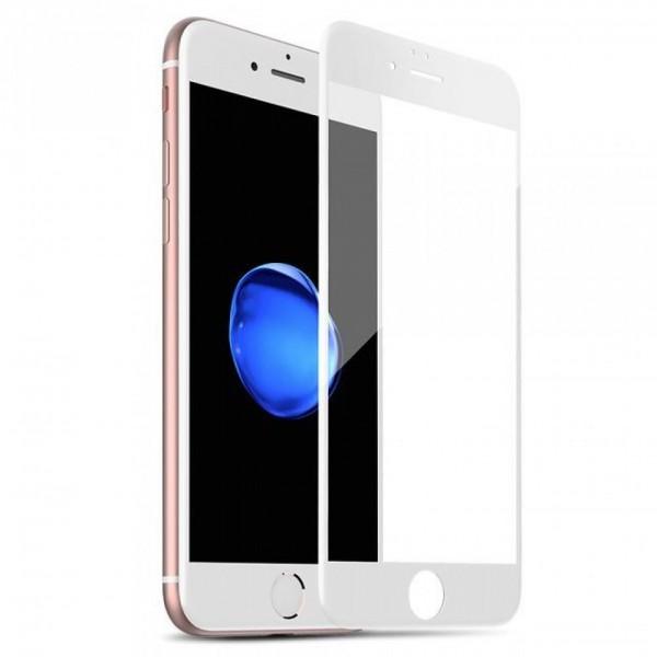 Стекло защитное iPhone 7/8/SE 2020 (3D) белое