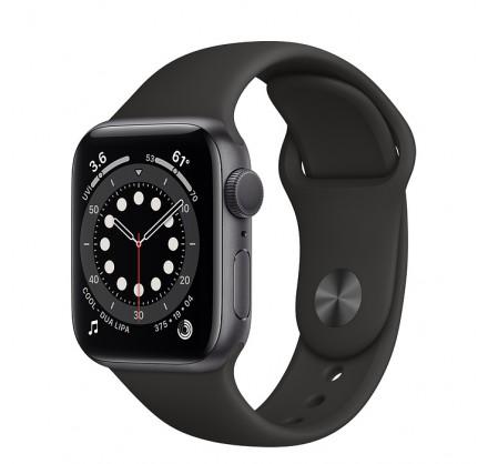 Apple Watch Series 6, 40 мм, корпус из алюминия цвета (...