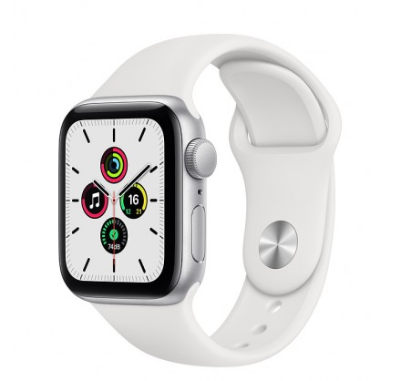 Apple Watch SE, 40 мм, корпус из алюминия серебристого ...