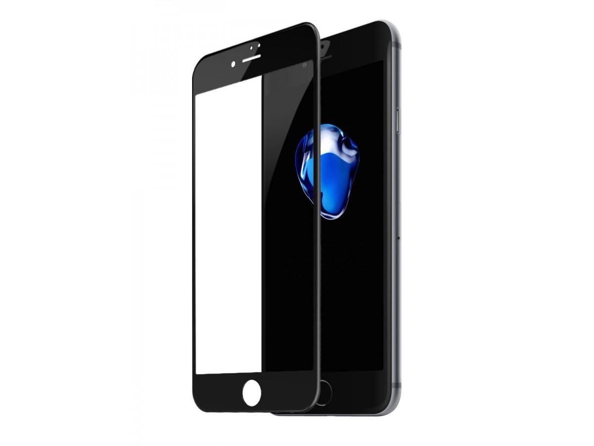 Стекло защитное iPhone 7 Plus/8 Plus (3D) Baseus черное в Тюмени