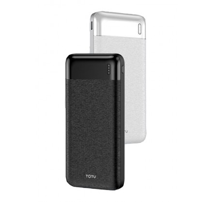 Power bank TOTU 10000mAh CPBN-035 (черный/белый)