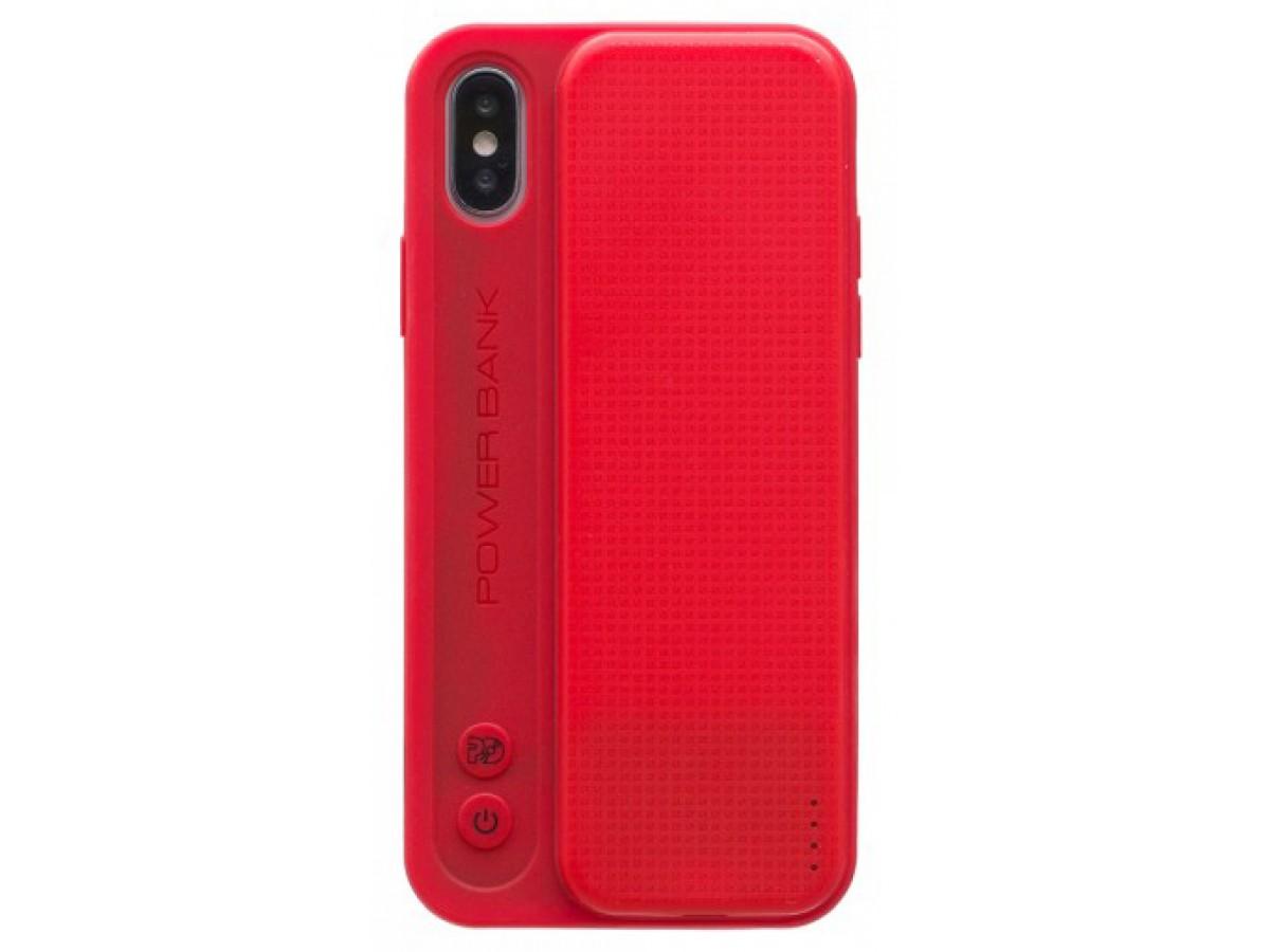 Беспроводной чехол-зарядка Proda для iPhone X красная в Тюмени
