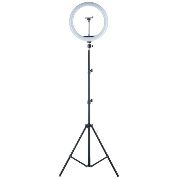 Кольцевая лампа MJ33 RGB 13″