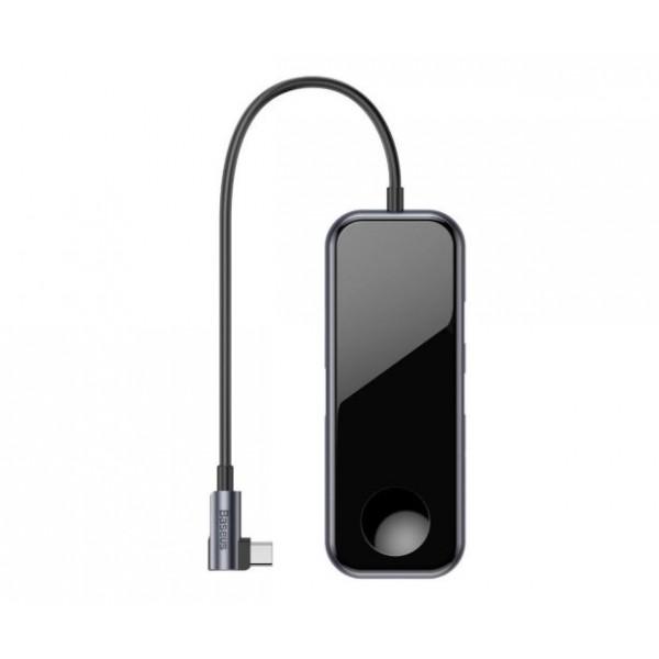 Хаб-переходник Baseus (USB3.0+HDMI+Audio+PD+iWatch)