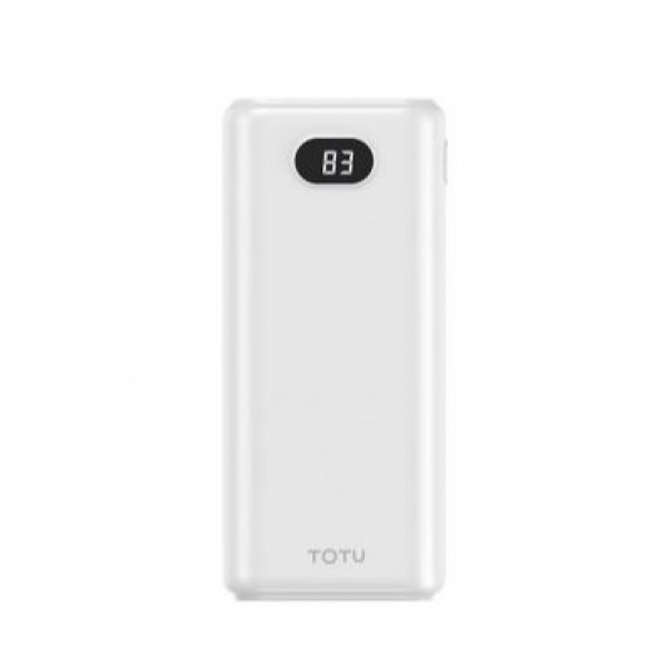 Power bank TOTU 10000mAh CPBN-037 (черный/белый)