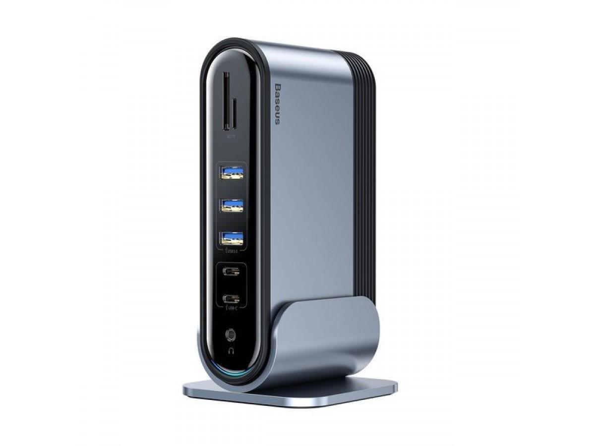 USB-хаб Baseus Working Station Multifunctional Type-C HUB в Тюмени
