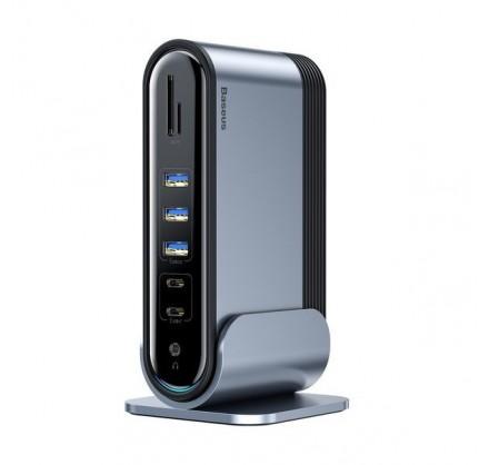 USB-хаб Baseus Working Station Multifunctional Type-C H...