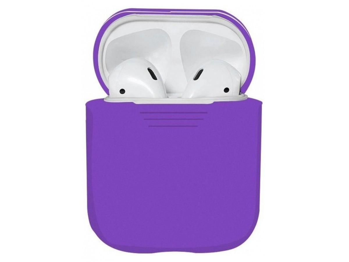 Чехол AirPods фиолетовый в Тюмени