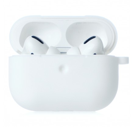 Чехол AirPods Soft-touch Pro белый