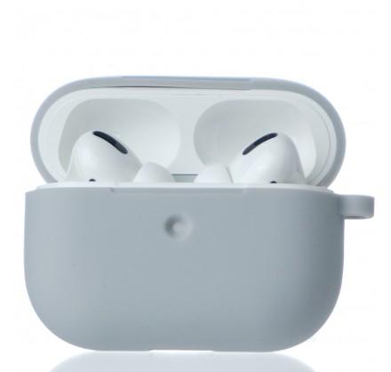 Чехол AirPods Pro Soft-touch серый