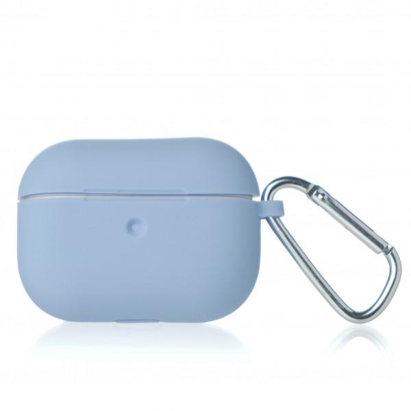 Чехол AirPods Pro Soft-touch светло-голубой