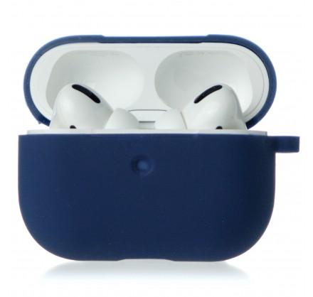 Чехол AirPods Pro Soft-touch темно-синий