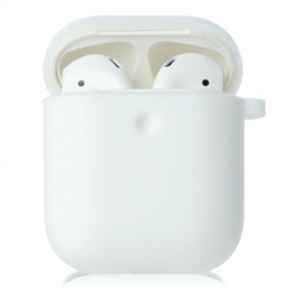 Чехол AirPods Soft-touch белый