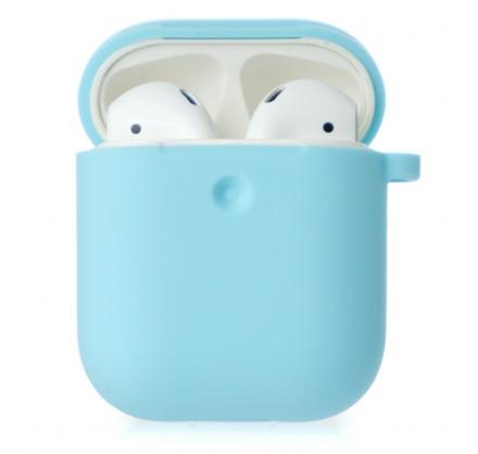 Чехол AirPods Soft-touch бирюзовый