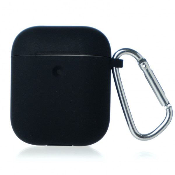 Чехол AirPods Soft-touch черный