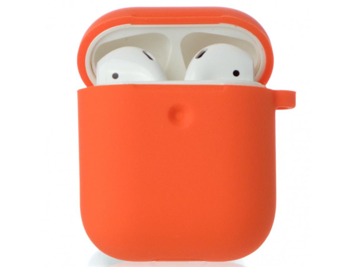 Чехол AirPods Soft-touch оранжевый в Тюмени