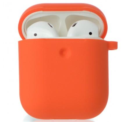 Чехол AirPods Soft-touch оранжевый