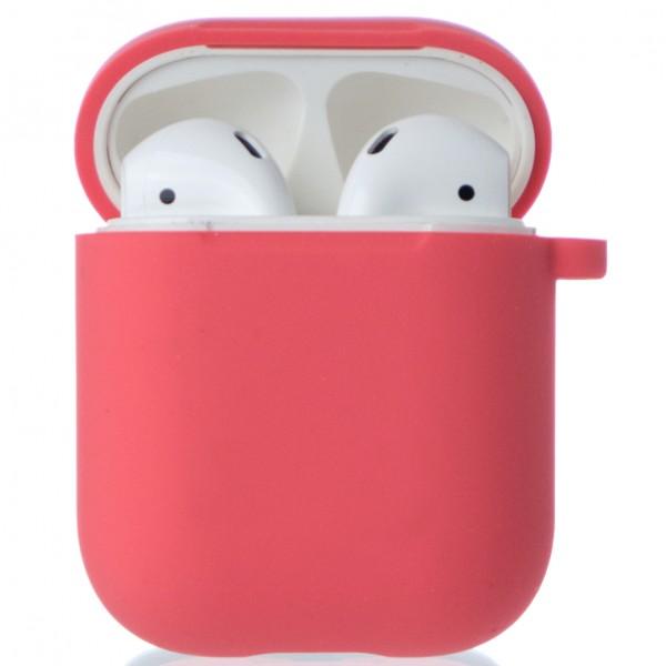 Чехол AirPods Soft-touch персиковый