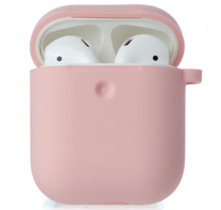 Чехол AirPods Soft-touch розовый