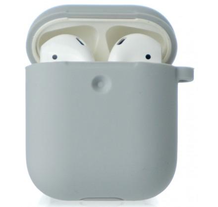 Чехол AirPods Soft-touch серый