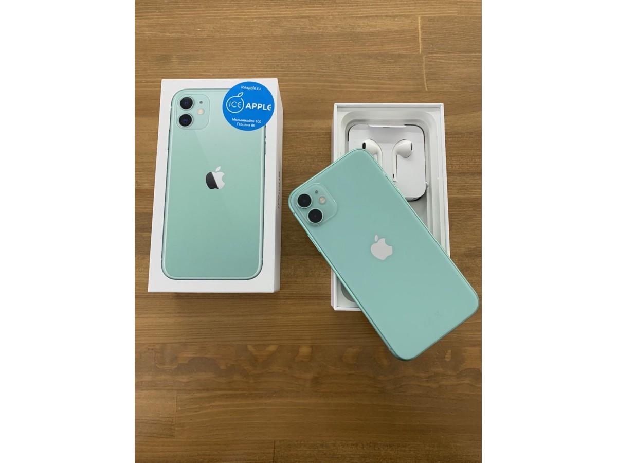 Apple iPhone 11 64gb Green  в Тюмени