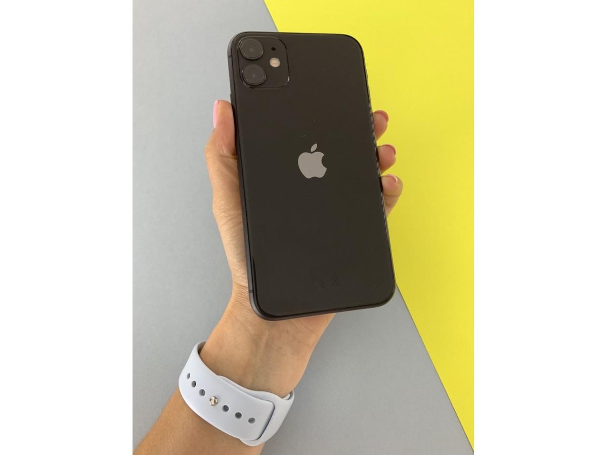 Apple iPhone 11 64gb Black в Тюмени
