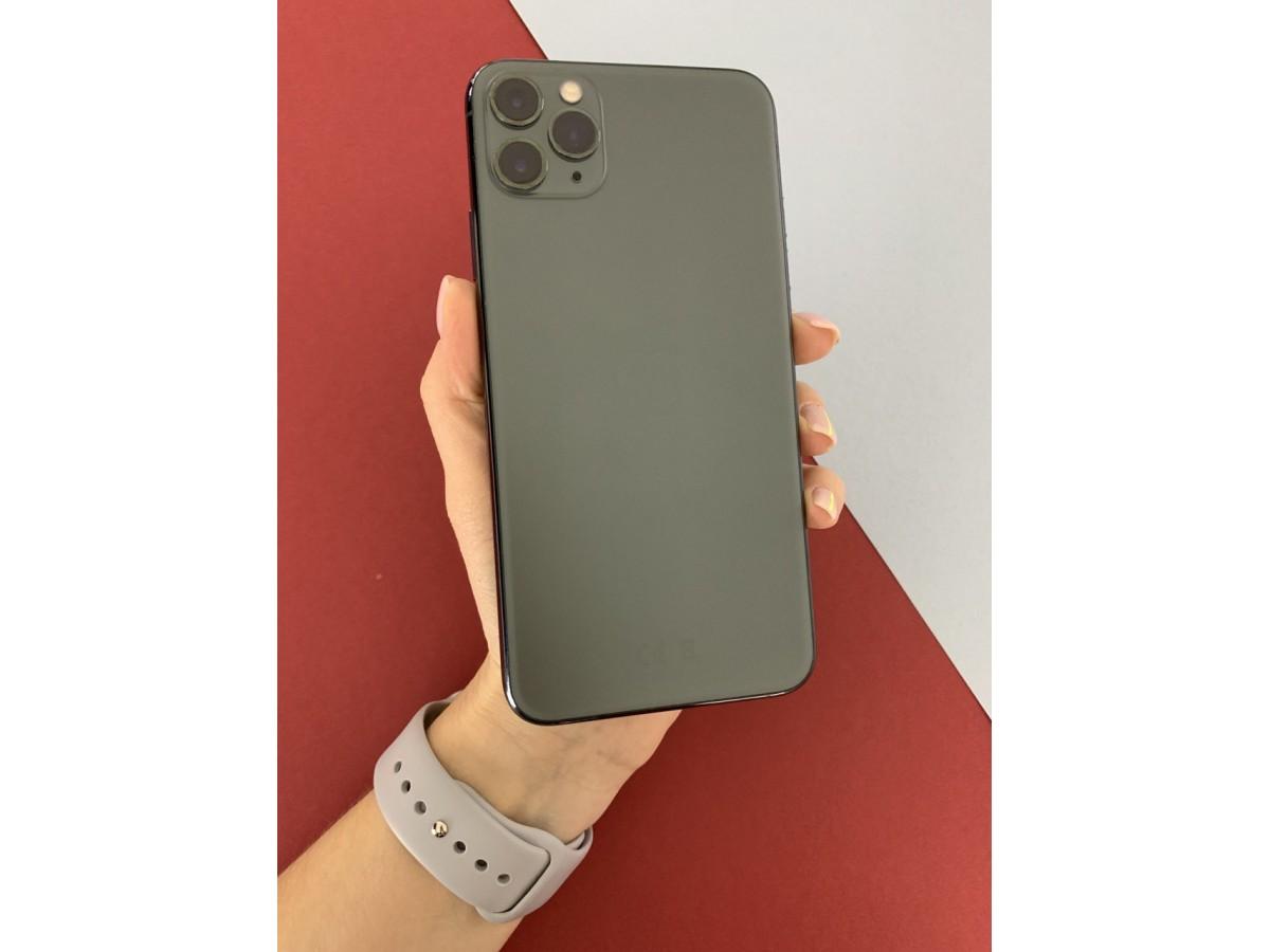 Apple iPhone 11 Pro Max 64gb Midnight Green в Тюмени