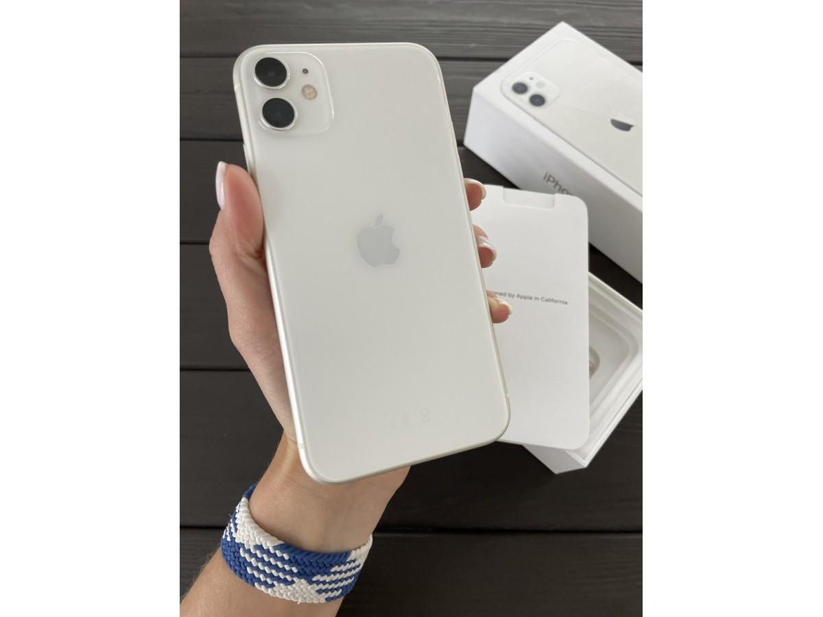 Apple iPhone 11 64gb White в Тюмени
