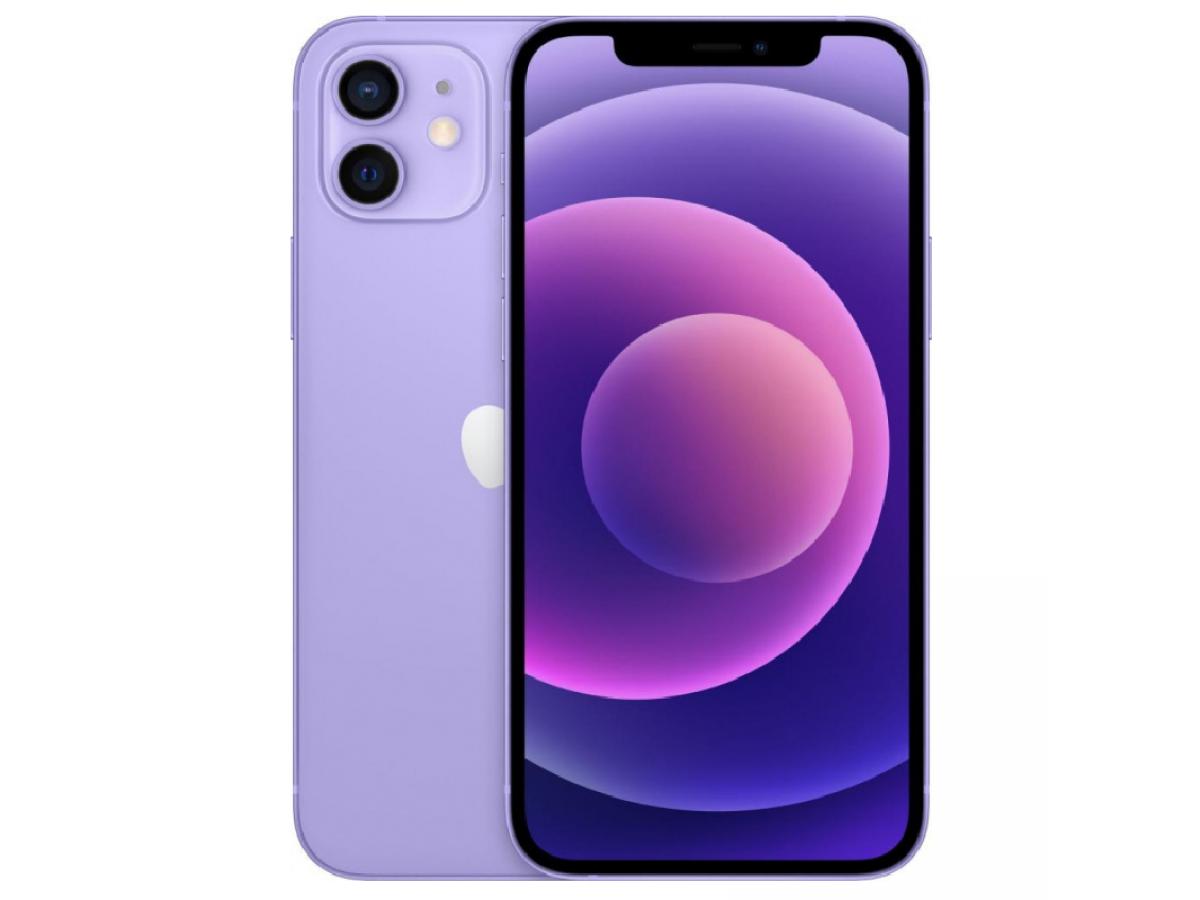 Apple iPhone 12 128GB (фиолетовый) в Тюмени