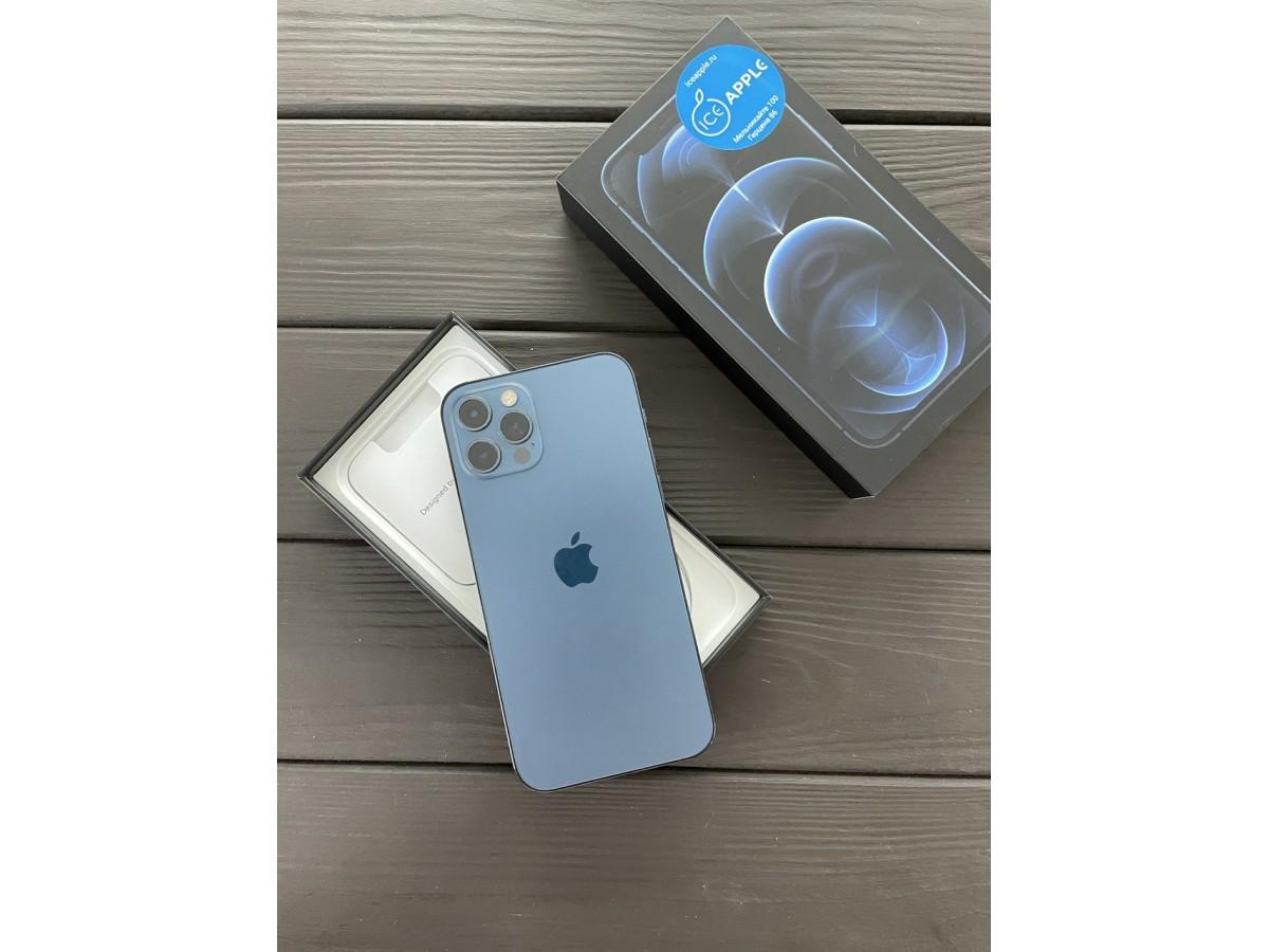 Apple iPhone 12 Pro Max 256gb Pacific Blue в Тюмени
