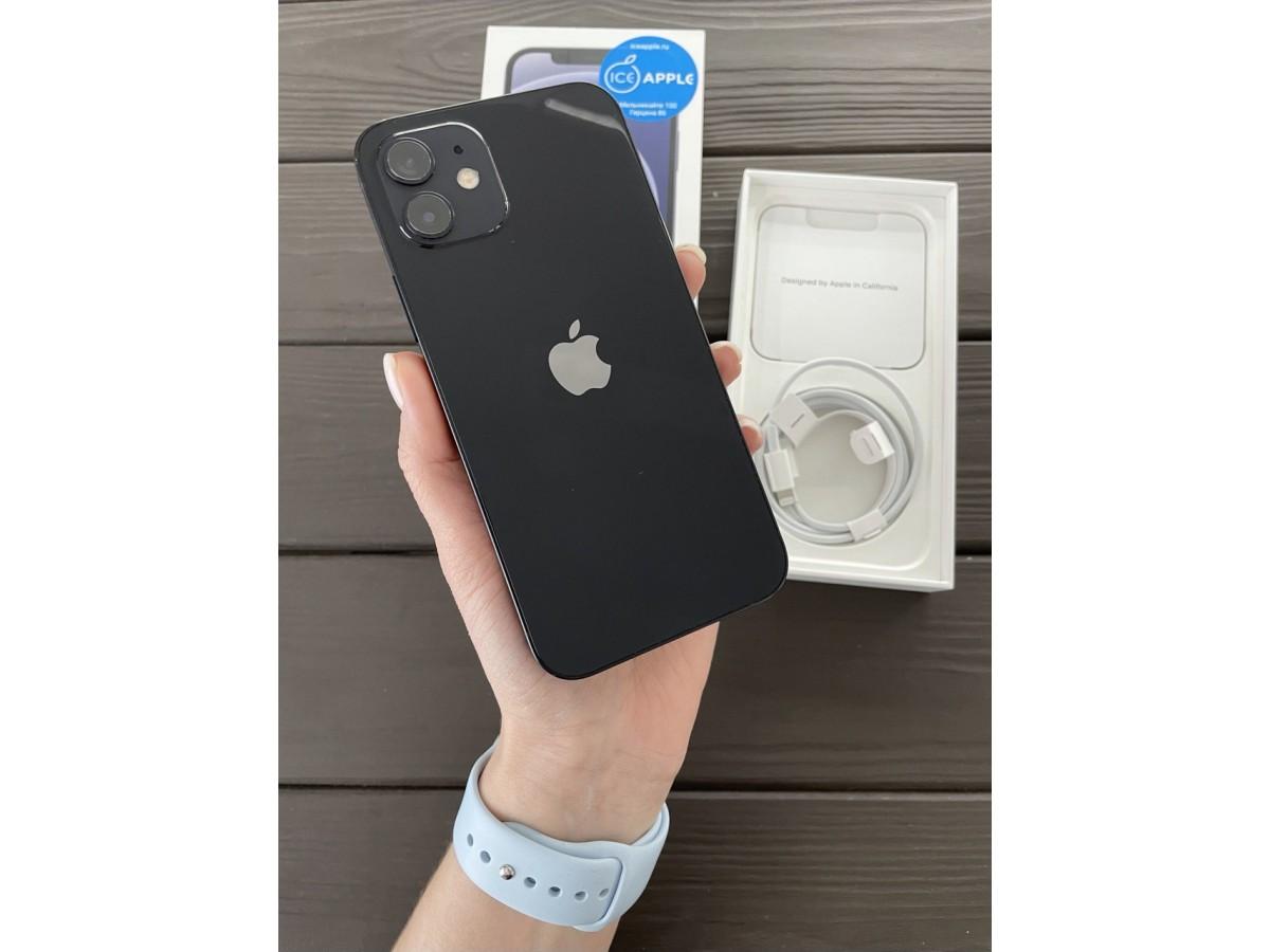 Apple iPhone 12 128gb Black в Тюмени