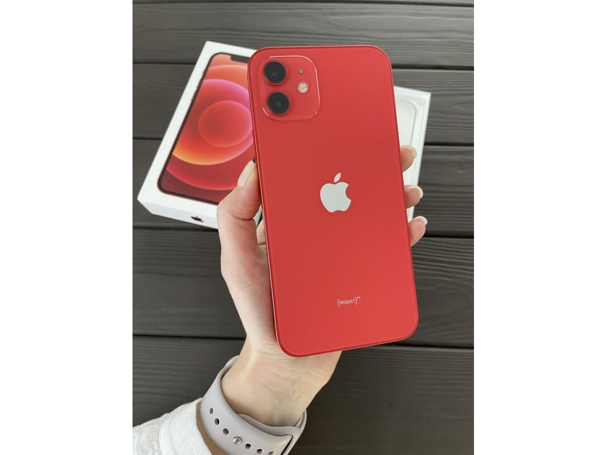 Apple iPhone 12 128gb Red в Тюмени
