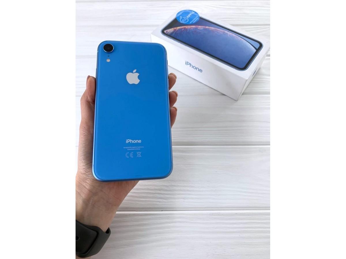 iPhone Xr 128gb Blue в Тюмени