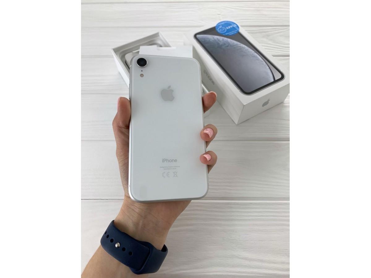 iPhone Xr 128gb White DUAL-SIM в Тюмени