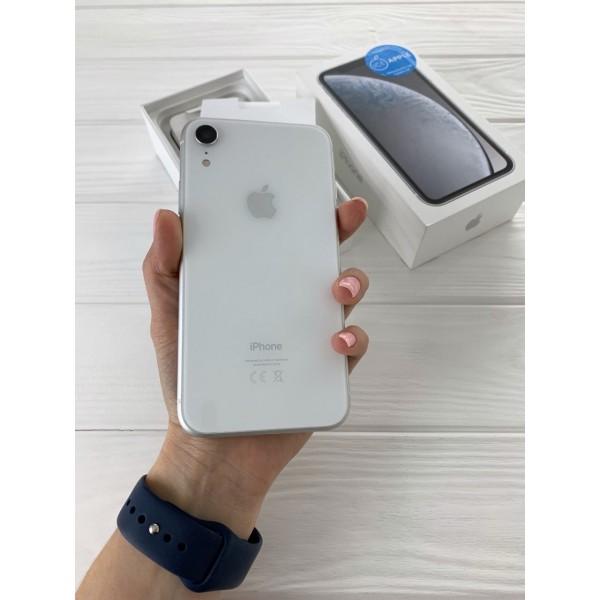 iPhone Xr 128gb White DUAL-SIM