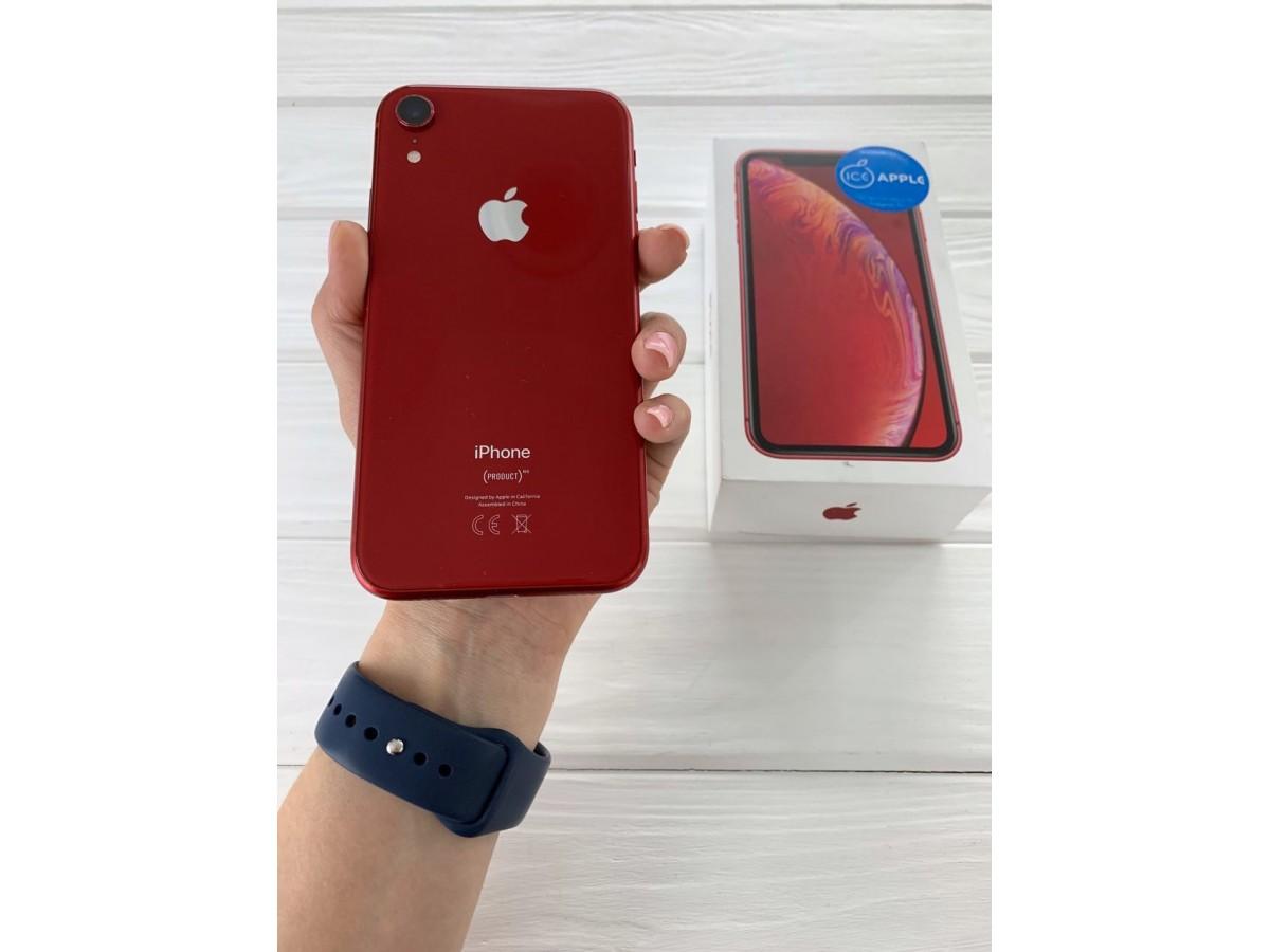 iPhone Xr 128gb Red в Тюмени
