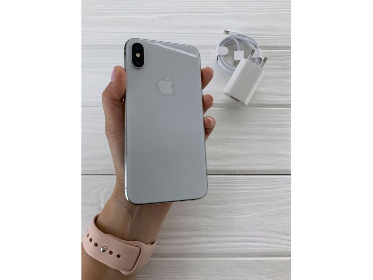 iPhone X 64gb Silver в Тюмени