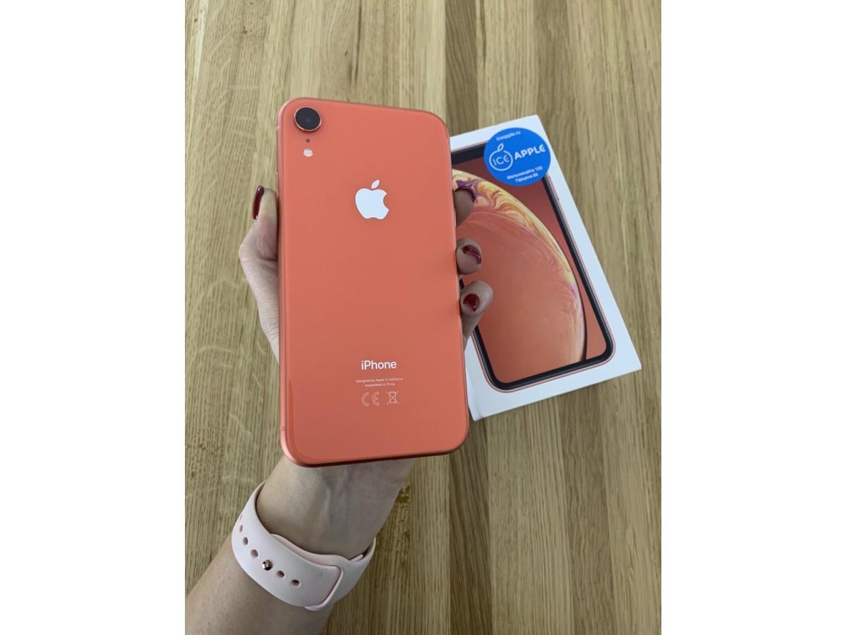 iPhone Xr 128gb Coral в Тюмени