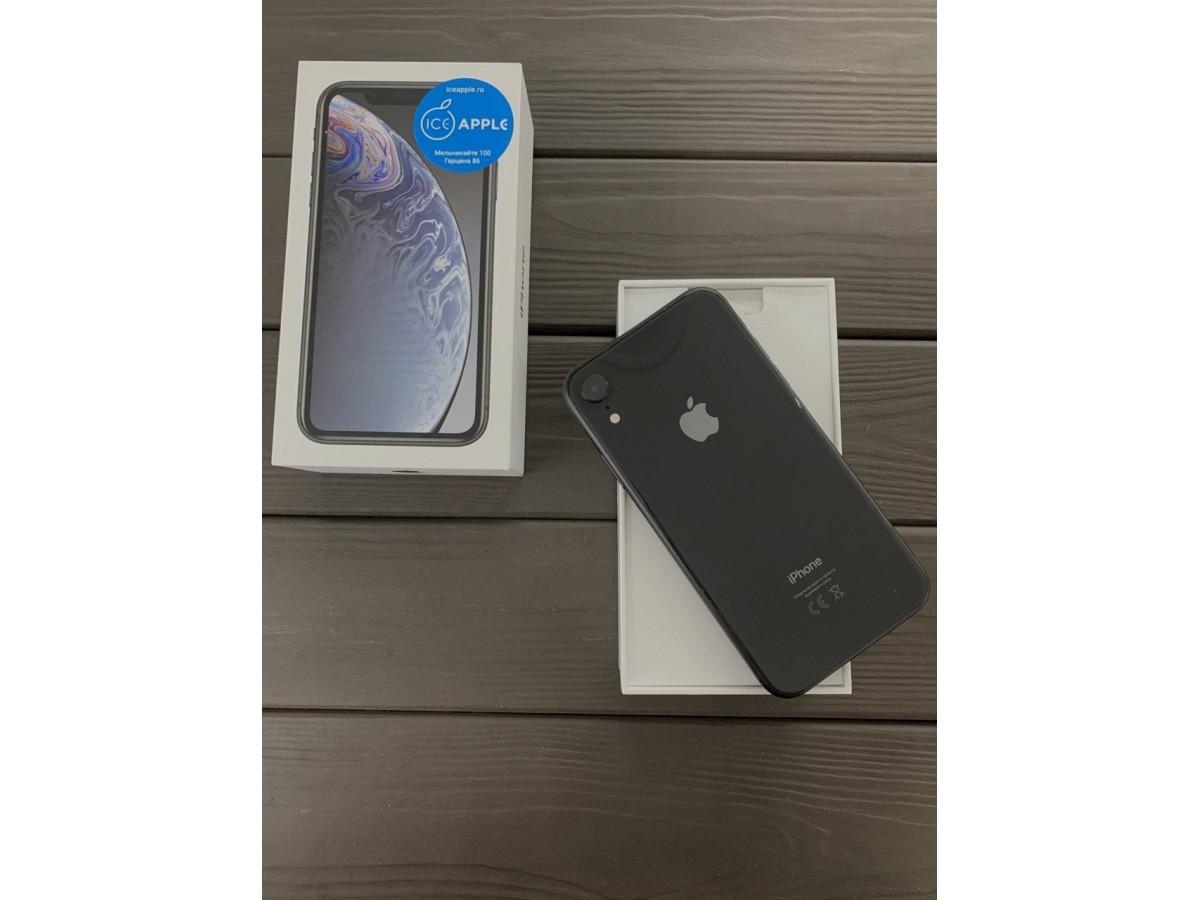 iPhone Xr 128gb Black в Тюмени
