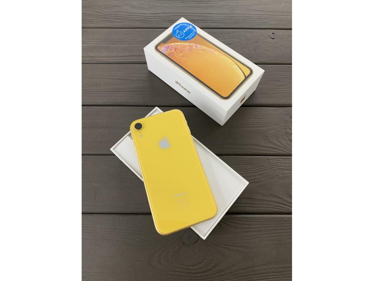 Apple iPhone Xr 128gb Yellow в Тюмени