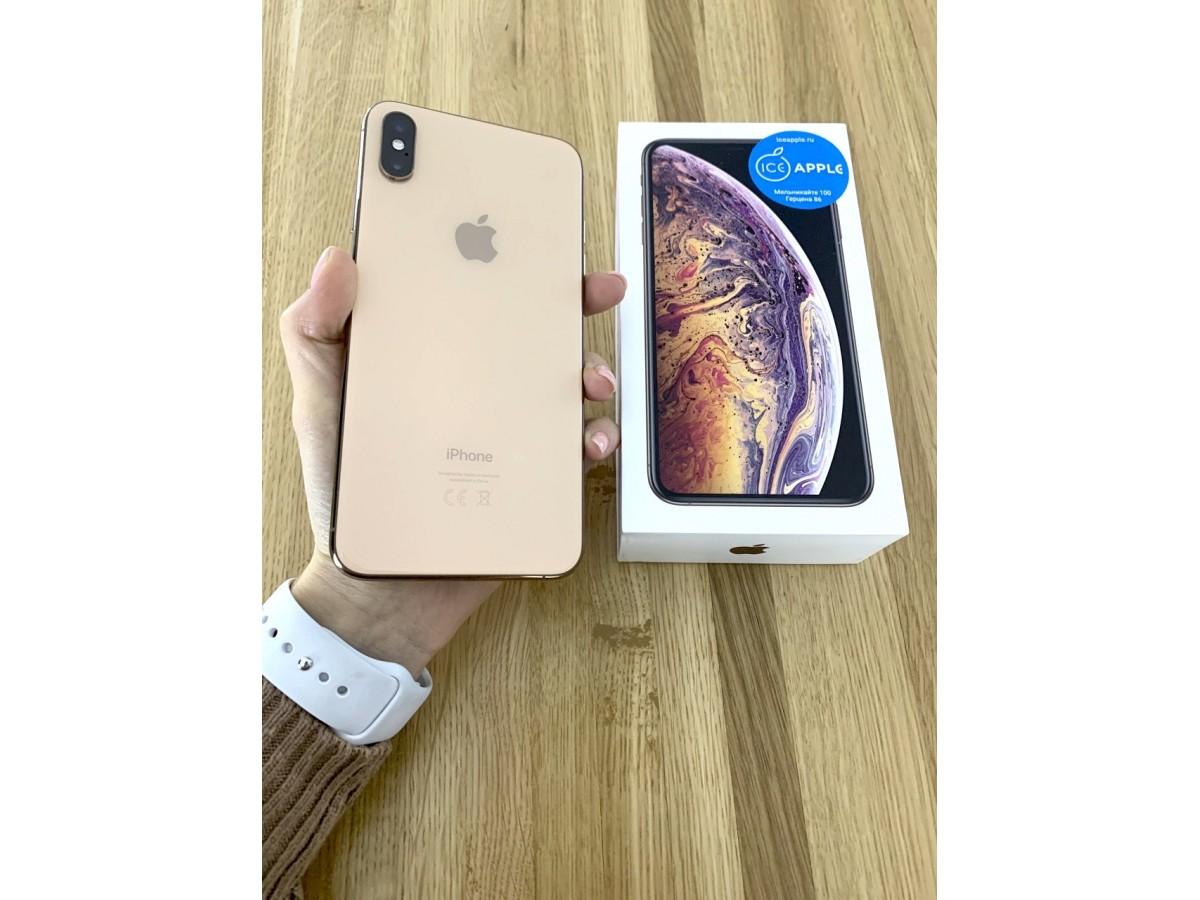 Apple iPhone Xs Max 256gb Gold в Тюмени
