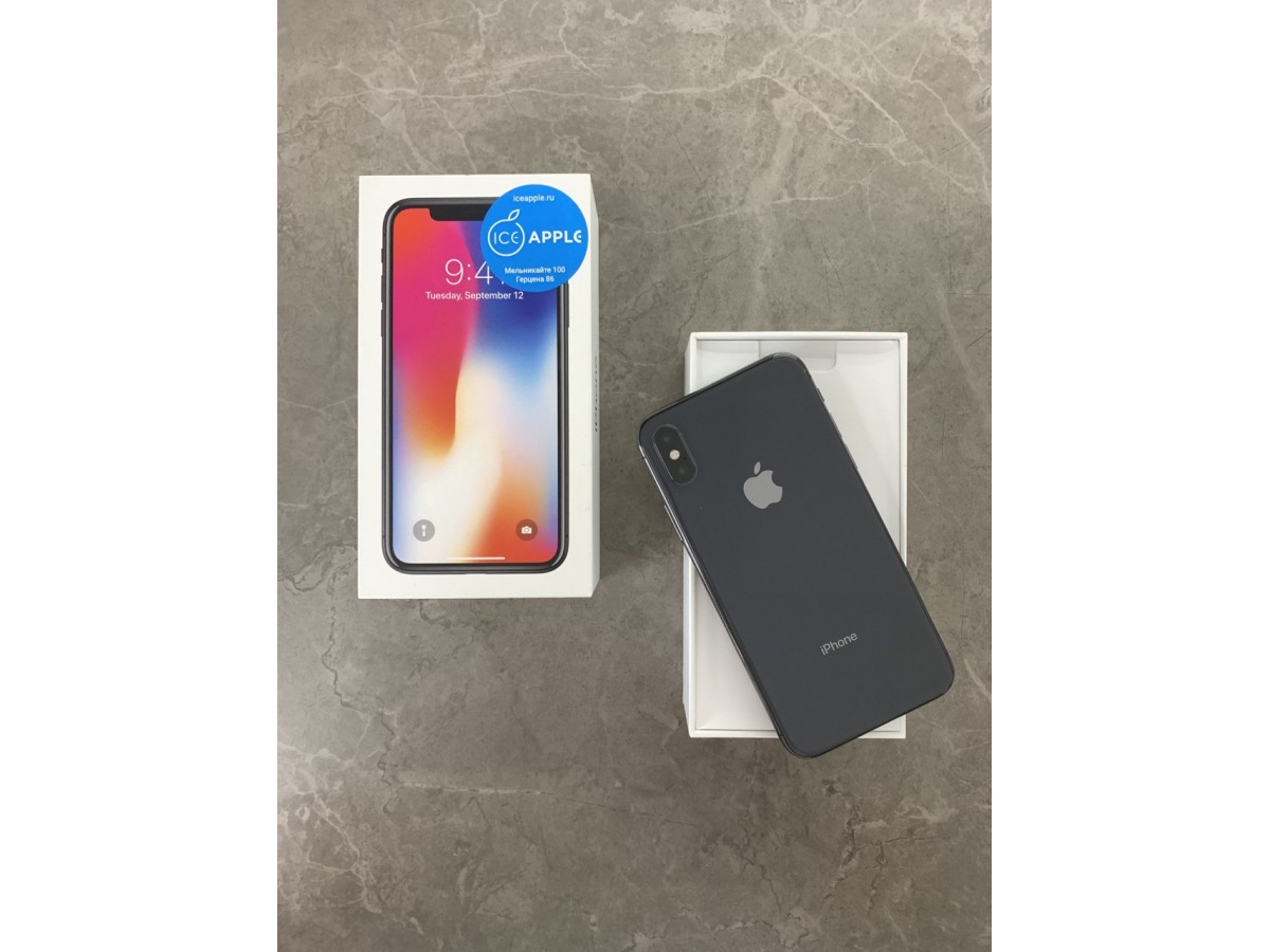 Apple iPhone X 256gb Space Gray в Тюмени