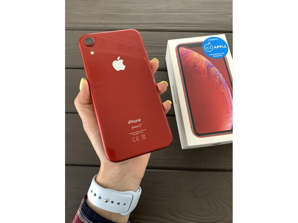 Apple iPhone Xr 64gb Red в Тюмени