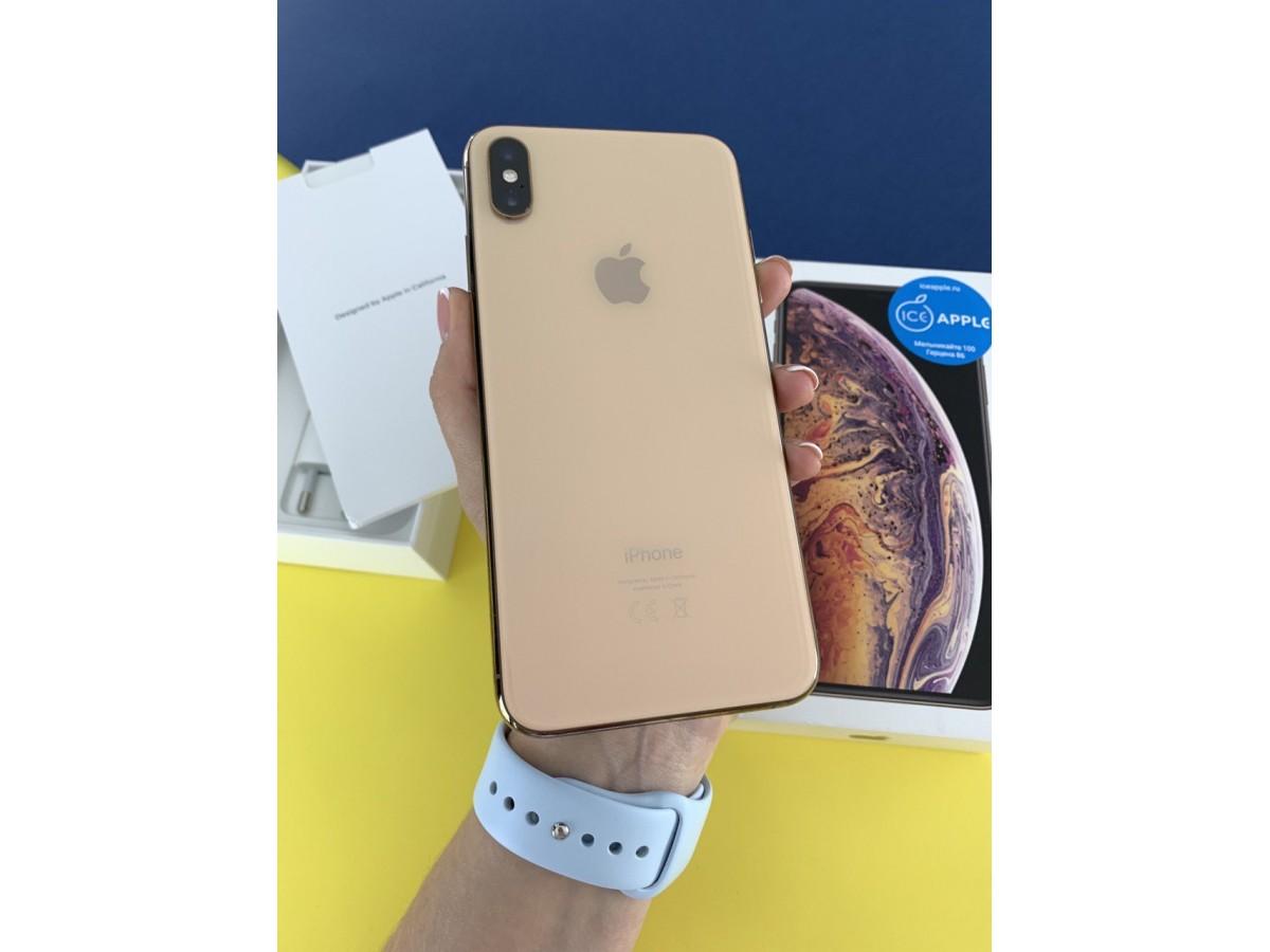 Apple iPhone Xs Max 64gb Gold в Тюмени